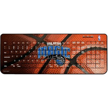 Orlando Magic Basketball Design Wireless USB Keyboard by Keyscaper by