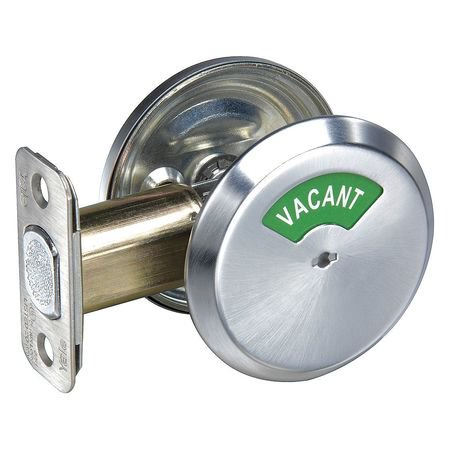 626 Deadbolt (YALE D292 X 626 Deadbolt w/Thumbturn,Satin Chrome)