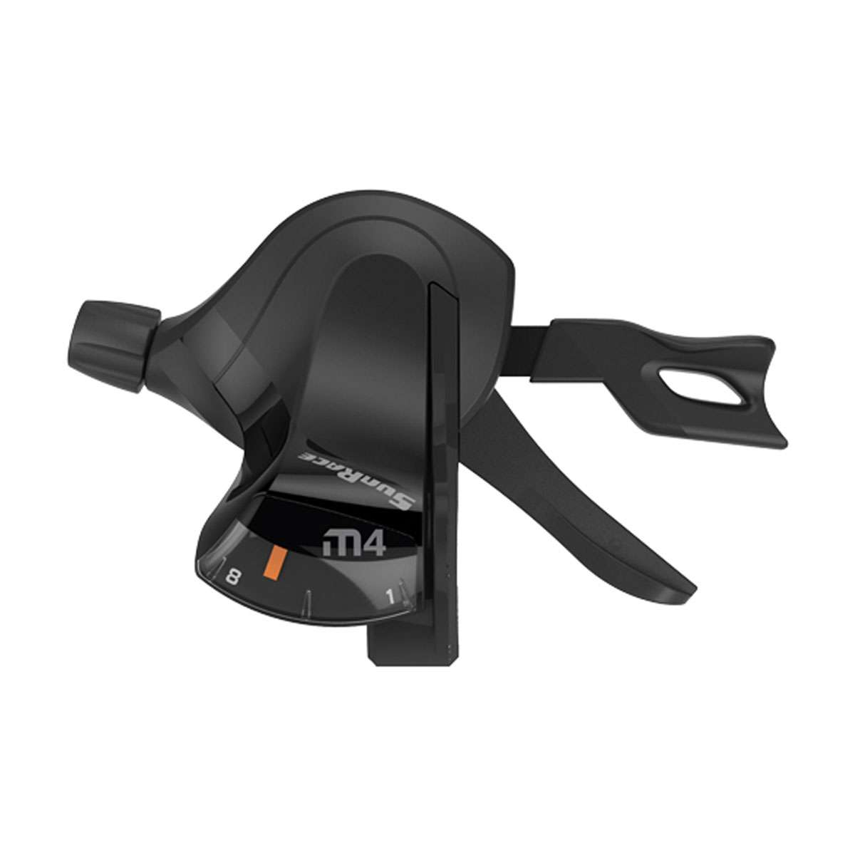SunRace SLM400 Mountain Bicycle Shift Lever - Front, Black, 3 Speed - DLM400.L300.0S0.HP