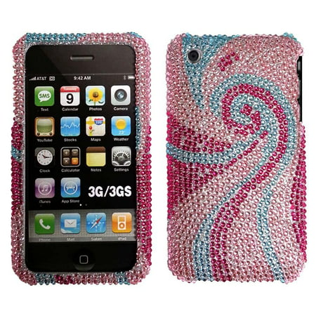 Bling Rhinestone Protector Case for iPhone 3G /3GS - Phoenix Tail