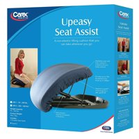 Carex Upeasy Seat Assist Standard Manual Lifting Cushion Navy Blue, 220 lb Weight, 1 Each