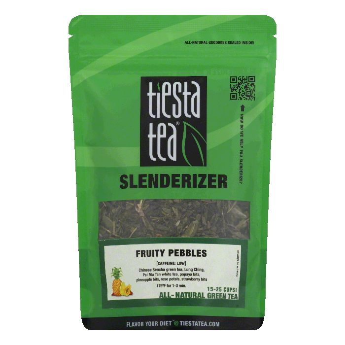 Tiesta Tea Fruity Pebbles Green Tea, 1.6 Oz (Pack of 6)