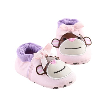 Lavaport Lovely Animal Monkey Pattern Baby Unisex Cotton Shoes First Walkers
