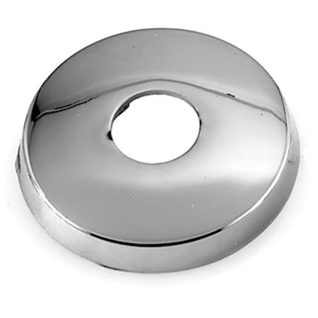 Westbrass D305-26 .5 in. IPS Brass Shower Arm Flange - Polished Chrome