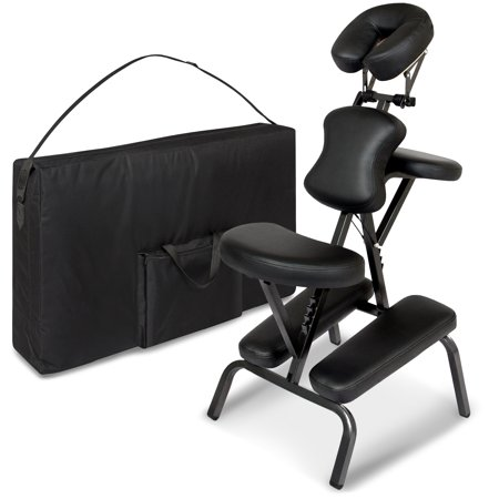 Best choice products folding portable massage chair with carrying bag - Portable massage table walmart ...