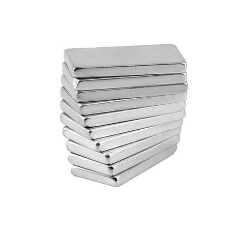 Neodymium Cube - 10pcs N52 Grade Super Strong Cube Magnets Rare Earth Neodymium Magnet 20x10x2mm