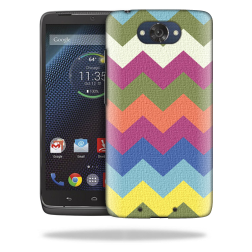 MightySkins Snap-On Protective Hard Case Cover for Motorola Droid Turbo Case Earth Chevron