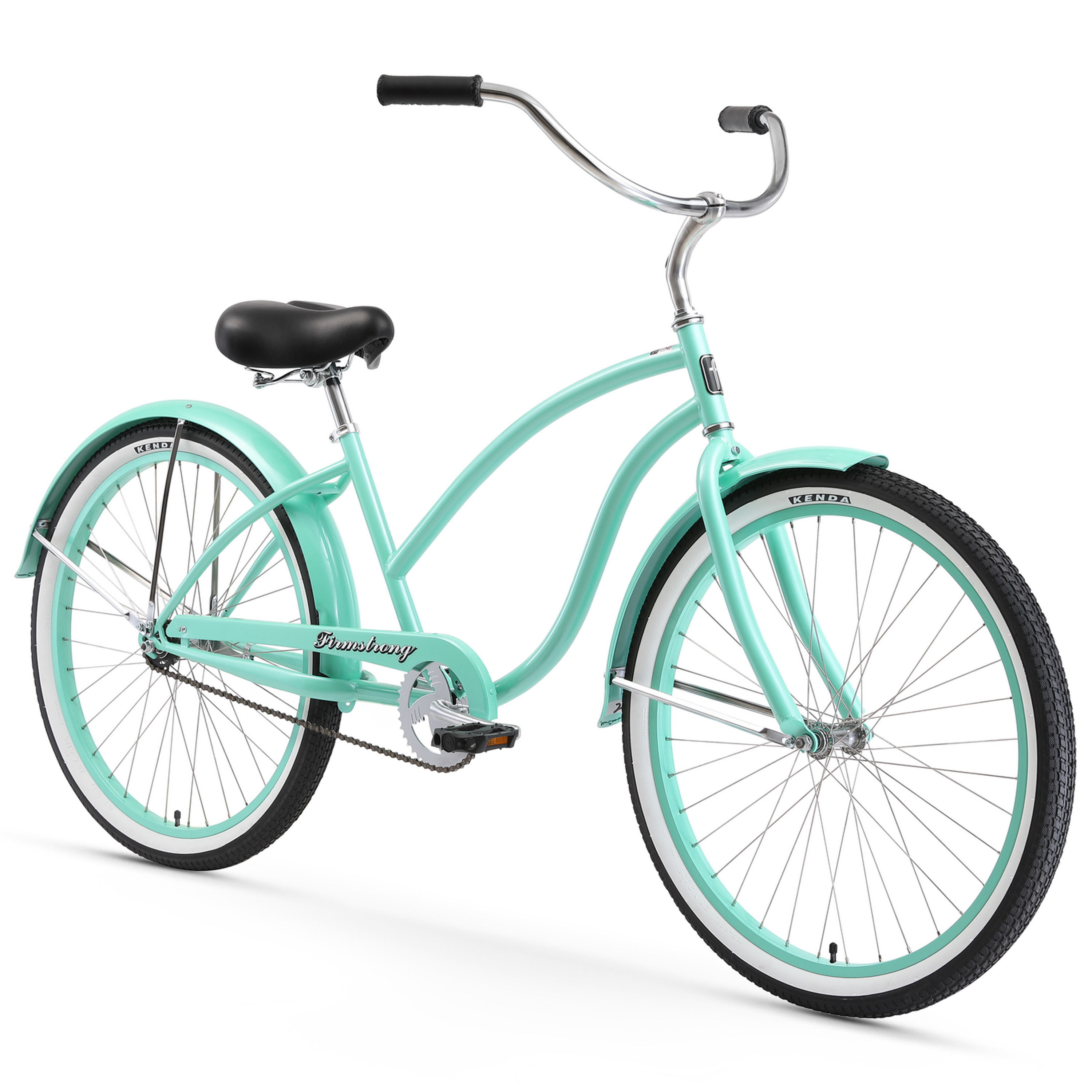 "Firmstrong 26"" Women's Chief Lady Beach Cruiser Bicycle, 1, 3 and 7 Speed"