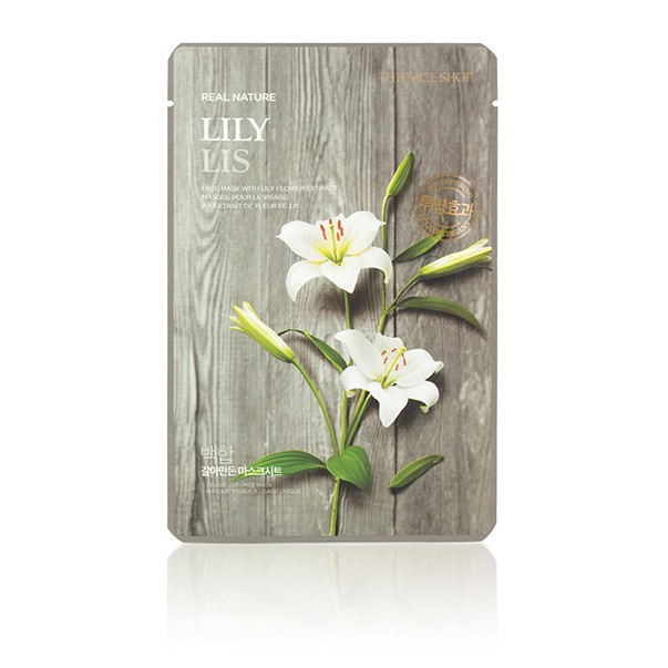 The Face Shop Real Nature Lily Face Mask