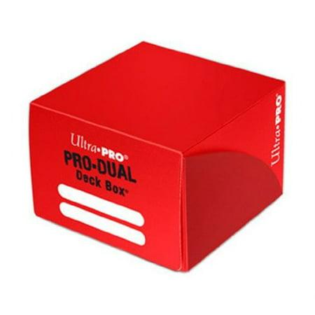 Ultra Pro Red Pro Dual Deck Box Multi-Colored (Dual Deck)