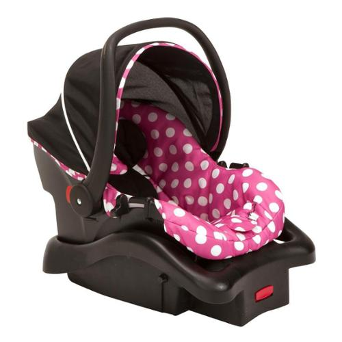 Disney Cosco Light 'N Comfy Luxe Infant Car Seat in Minni...