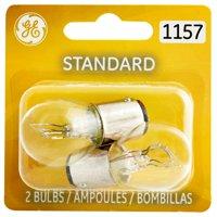 GE Lighting 1157 Miniature Bulb Standard Replacement, 2-Pack