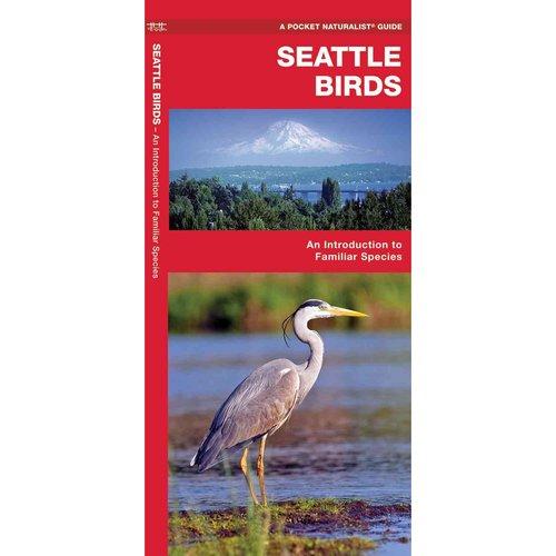Seattle Birds: A Folding Pocket Guide to Familiar Species
