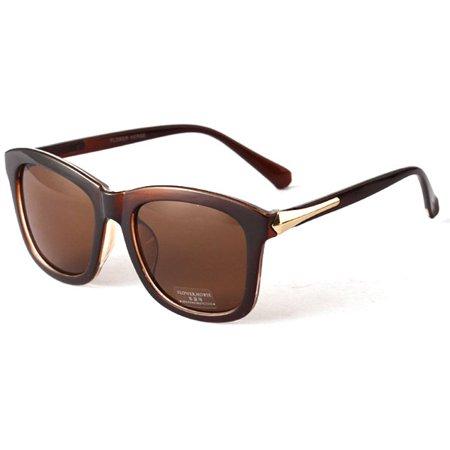 Vintage Unisex Square Sunglasses Plastic Frame Eyeglasses