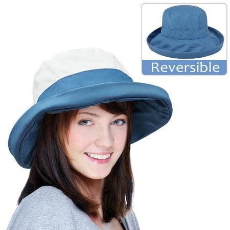 - sun blocker women's sun hat upf 50+ bucket cap packable outdoor travel hat