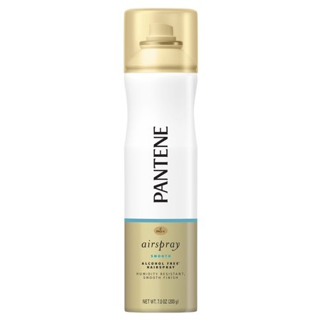 Pantene Pro-V Smooth Airspray Humidity Resistant Smooth Finish Hairspray, 7 oz (Fog Free Spray Solution)