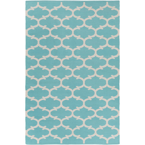 Artistic Weavers Vogue Lola Teal/Ivory Area Rug