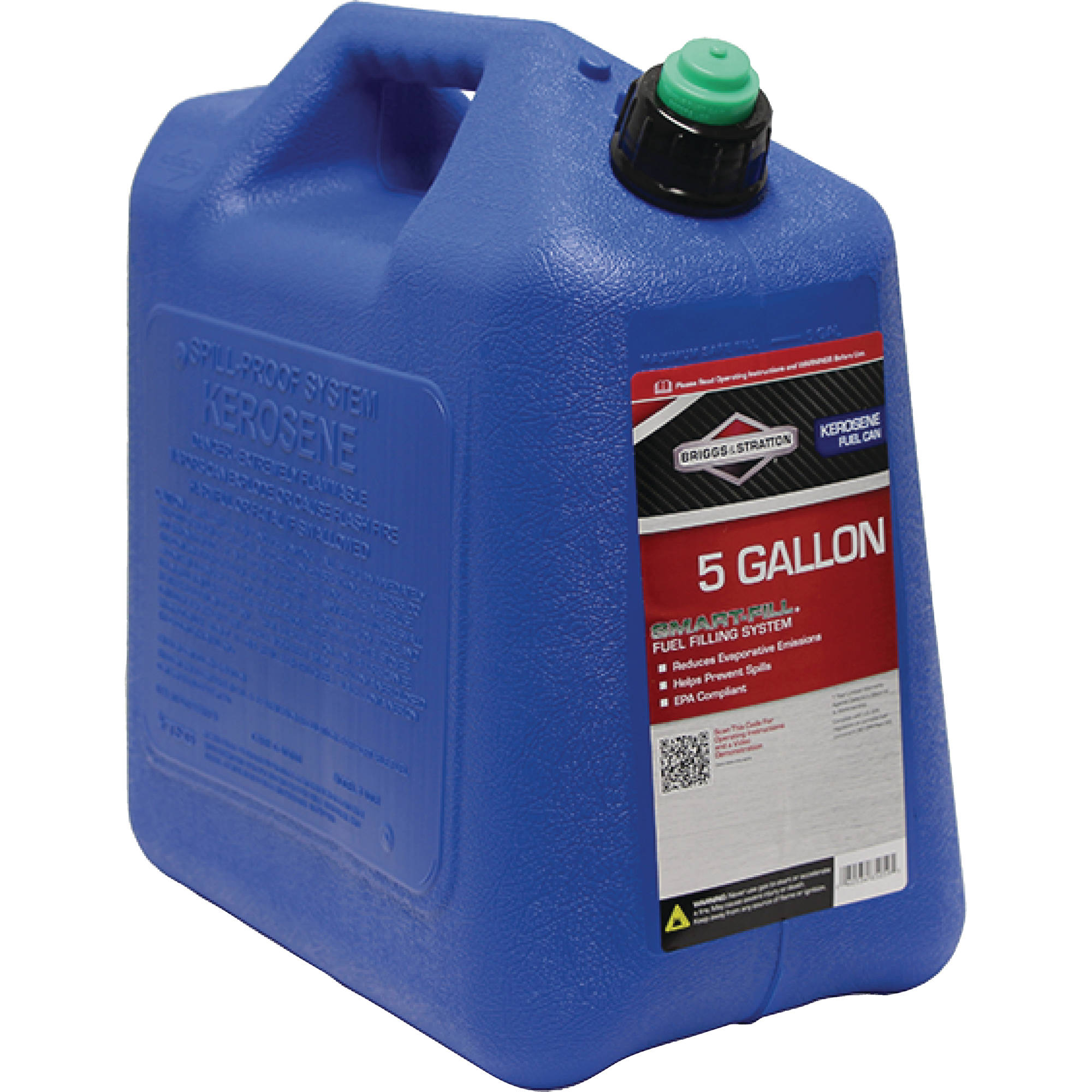 Briggs and Stratton 5-Gallon CARB Kerosene Jerry Jug, Blue