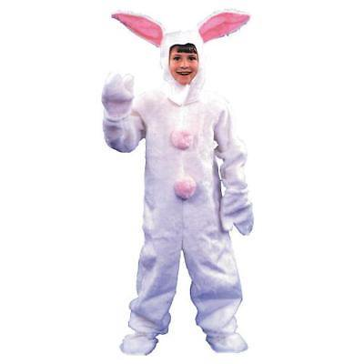 Express Suit (IN-13594341 Bunny Suit White Halloween Costume for Kids  By Fun)