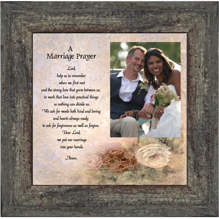 - Prayer for you Marriage, Great Gift for Anniversary, Personalized Picture Frame, 10X10 6757