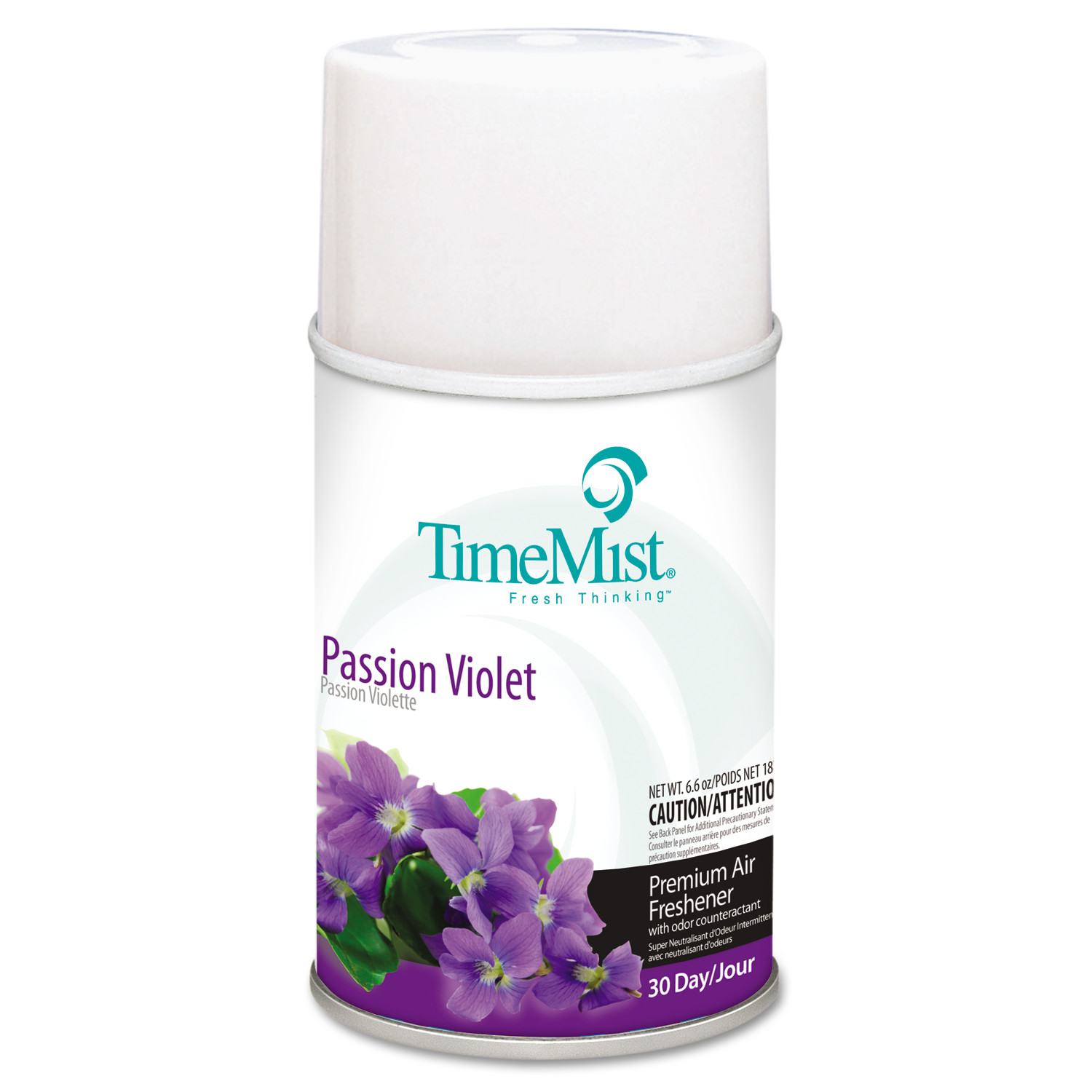 TimeMist Metered Fragrance Dispenser Refills, Passion Violet, 6.6 oz, 12/Carton