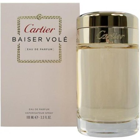 Cartier Brown Strap - CARTIER BAISER VOLE 3.4 EDP SP FOR WOMEN