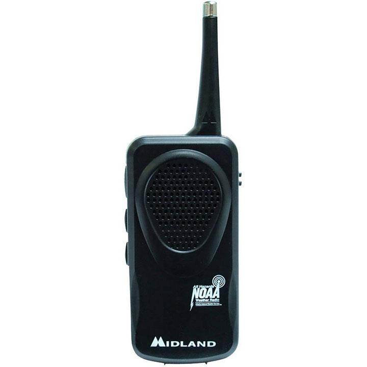 MIDLAND WEATHER ALERT RADIO*BE PREPARED *WR120 ELECTRIC OR BAT OPER*ENG*SPAN*FRE