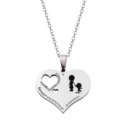 Sister Necklace Best Friends Gift Love Heart Pendant Necklace Gift for (Best Amazon Collection Friend Sisters)