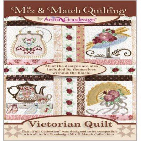 Anita Goodesign Victorian Quilt Mix And Match Quilting