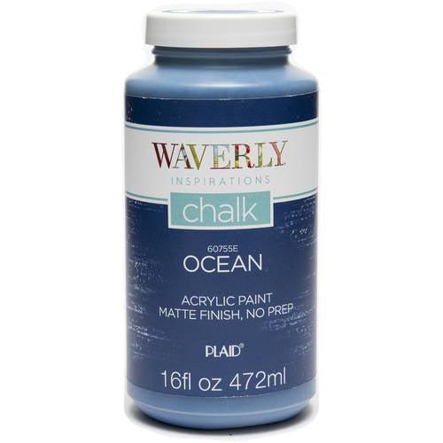 Waverly Inspirations Matte Chalk Finish Acrylic Paint, 16 oz by