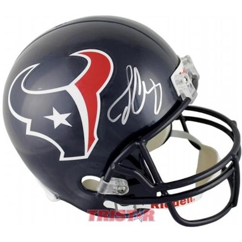 TriStarProductions I0028939 Jadeveon Clowney Autographed Houston Texans Full Size Replica Helmet