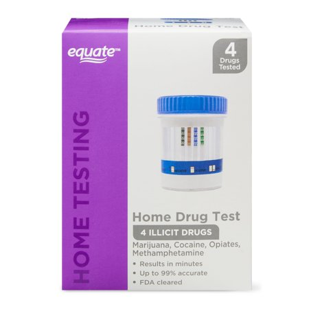 Equate 4 Panel Home Drug Test