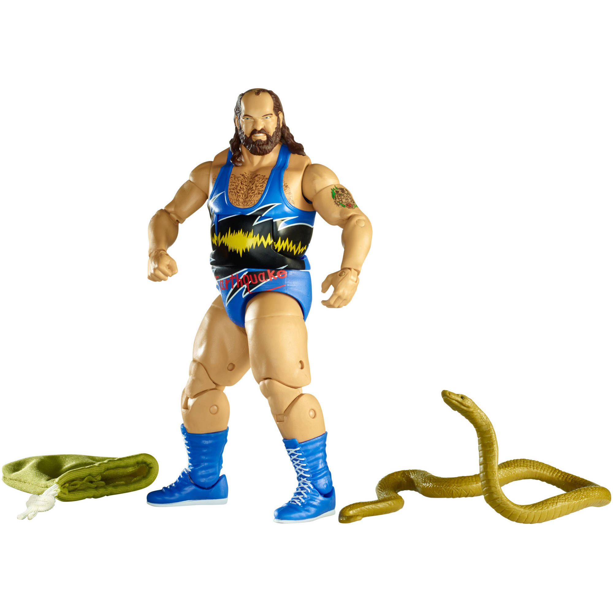 WWE Elite Earthquake Action Figure