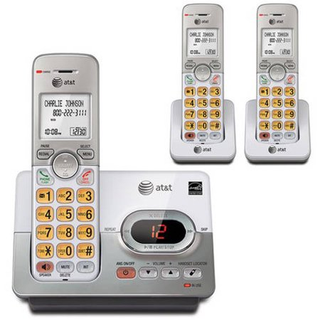 At El52303 Dect 6 0 3 Handset Cordless Answering System With Caller Id Call Waiting