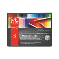 Caran d'Ache, Luminance 6901, 40 Colors