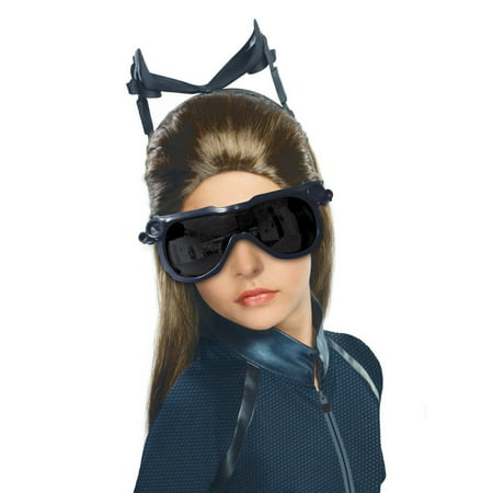 Girls Batman The Dark Knight Rises Catwoman Wig](Custom Catwoman Costume)