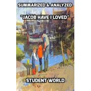 "Summarized & Analyzed ""Jacob Have I Loved"" - eBook"