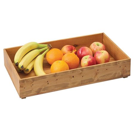 Cal Mil 3682-2012-99 Madera Reclaimed Wood Stacking Box - 20 x 12 x 3.25 in.