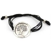 Tree of Life Seed of Faith Sealing Wax Antique Finish Adjustable Friendship Bracelet by Jewelry Nexus