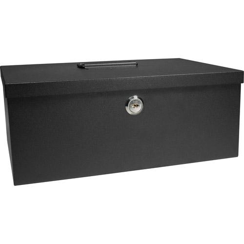 Barska Cash Box and 6-Compartment Tray with Key Lock