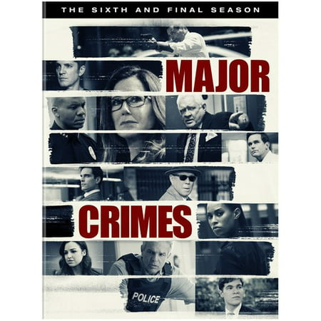 Major Crimes: The Complete Sixth Season (DVD) - Home Improvement Season 6 Halloween