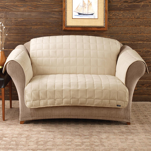 sure fit deluxe pet loveseat cover