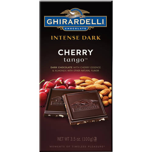 Ghirardelli Chocolate Intense Dark Cherry Tango Bar, 3.5 oz