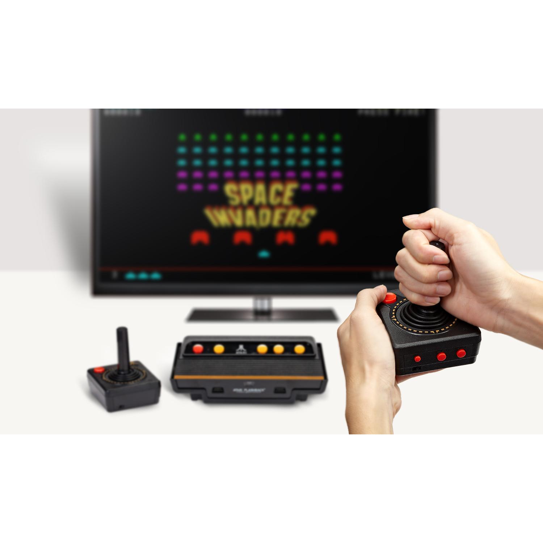 Atari Flashback 7 Console Retro Gaming Black Ar3210 Walmart Com