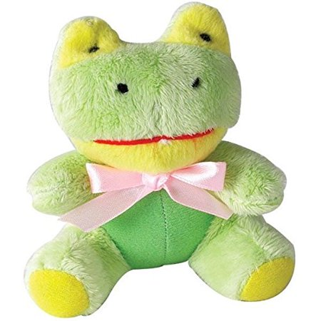 ITTY BITTIES Small Breed Dog Toy Brightly Colored Squeaker Toys Choose Character(Wee Frog)