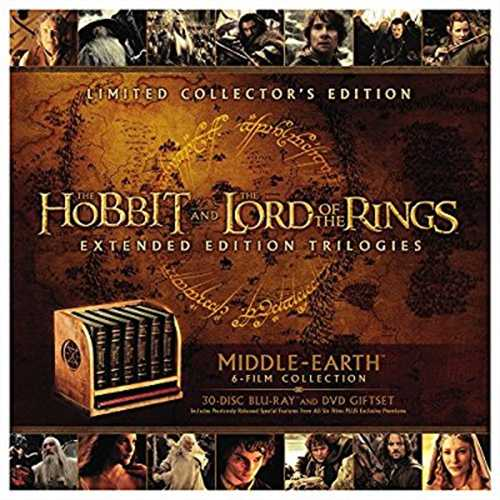 Middle-Earth Limited Collector's Edition: The Hobbit and The Lord Of The Rings Extended Edition Trilogies... by