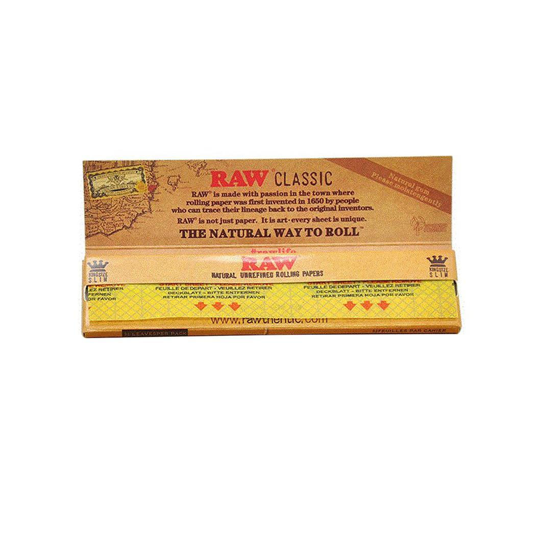 50Pcs Hand-rolled Paper,Rolling Paper Translucent Classic Native Natural Way to Roll Paper ROOJER - image 1 de 8