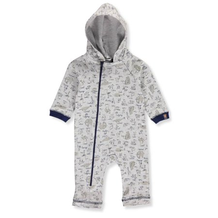 Absorba Baby Boys' Hooded Coverall