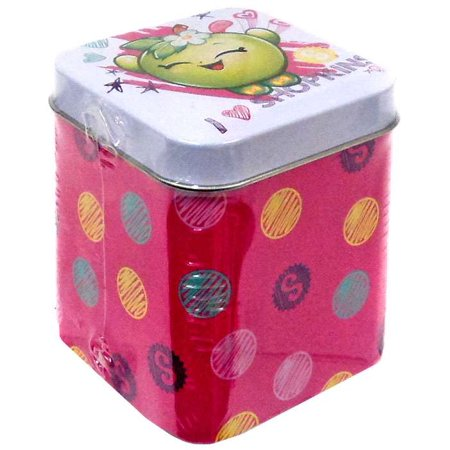 Shopkins Trading Cards Collectors Tin