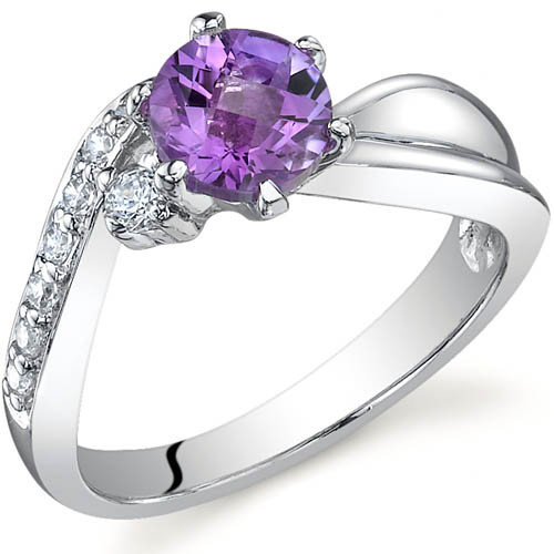Oravo Ethereal Curves 0.75 Carat Ring in Sterling Silver